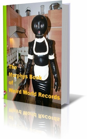 The Murphy's Book of Weird World Records (Bellend Publishing) is available soon in all good bookshops