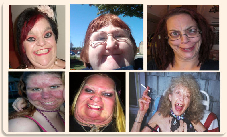 Here's just a small selection of hideous candidates who thought themselves worthy of being my wife