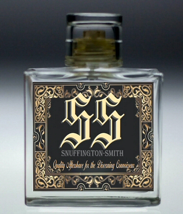 SS Aftershave by Snuffington-Smith - The mark of a true Gentleman